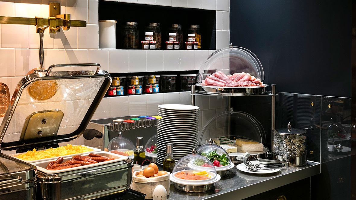 Hotel Square Louvois - Buffet petit dejeuner